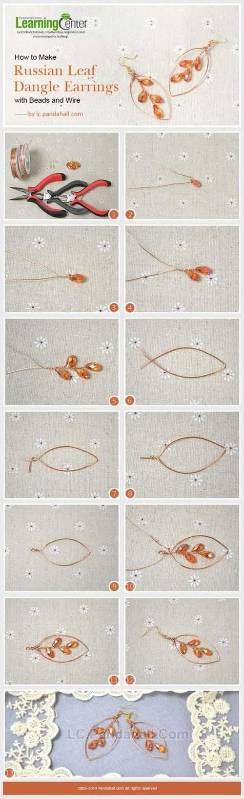 Υπέροχες ιδέες για να φτιάξετε τα δικά σας σκουλαρίκια (3)