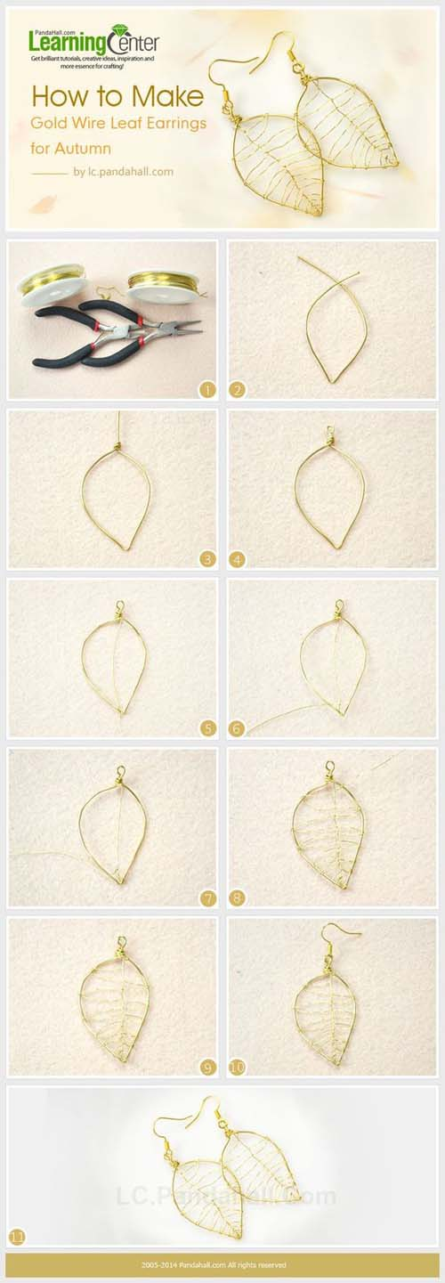 Υπέροχες ιδέες για να φτιάξετε τα δικά σας σκουλαρίκια (4)