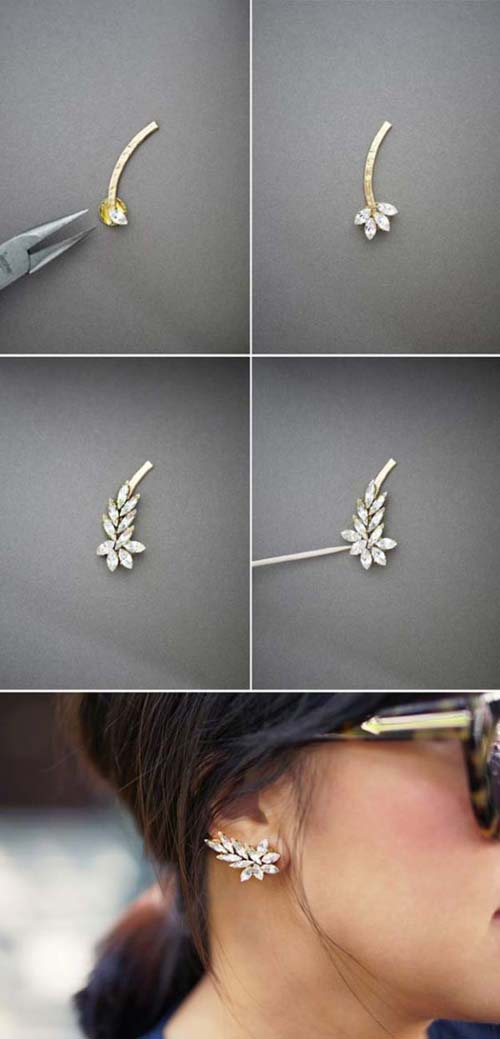 Υπέροχες ιδέες για να φτιάξετε τα δικά σας σκουλαρίκια (7)