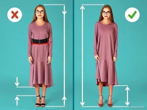 Μυστικά για να δείχνει ψηλότερη και λεπτότερη μια μικρόσωμη γυναίκα (3)