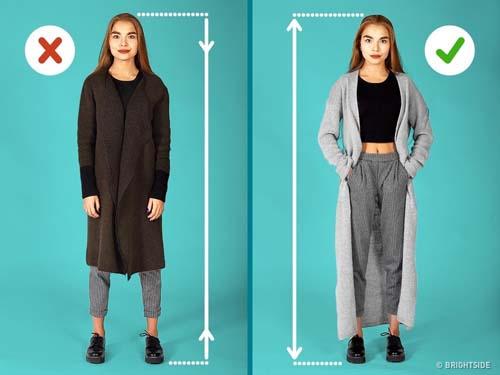 Μυστικά για να δείχνει ψηλότερη και λεπτότερη μια μικρόσωμη γυναίκα (5)