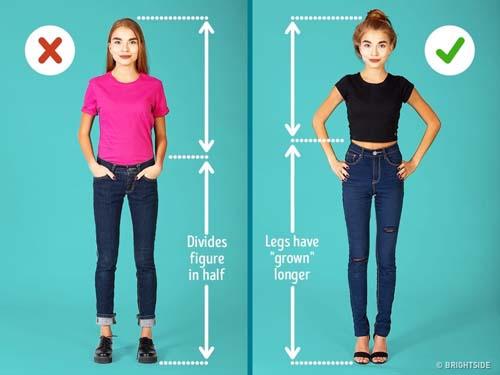 Μυστικά για να δείχνει ψηλότερη και λεπτότερη μια μικρόσωμη γυναίκα (8)