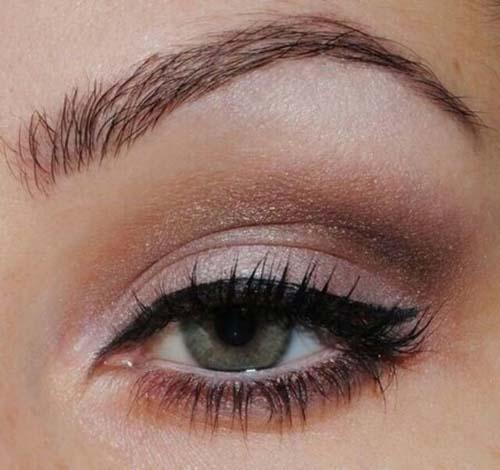 Νυφικό μακιγιάζ σε γήινες αποχρώσεις (2)