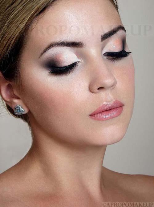 Νυφικό μακιγιάζ σε γήινες αποχρώσεις (3)