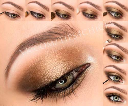 Νυφικό μακιγιάζ σε γήινες αποχρώσεις (6)