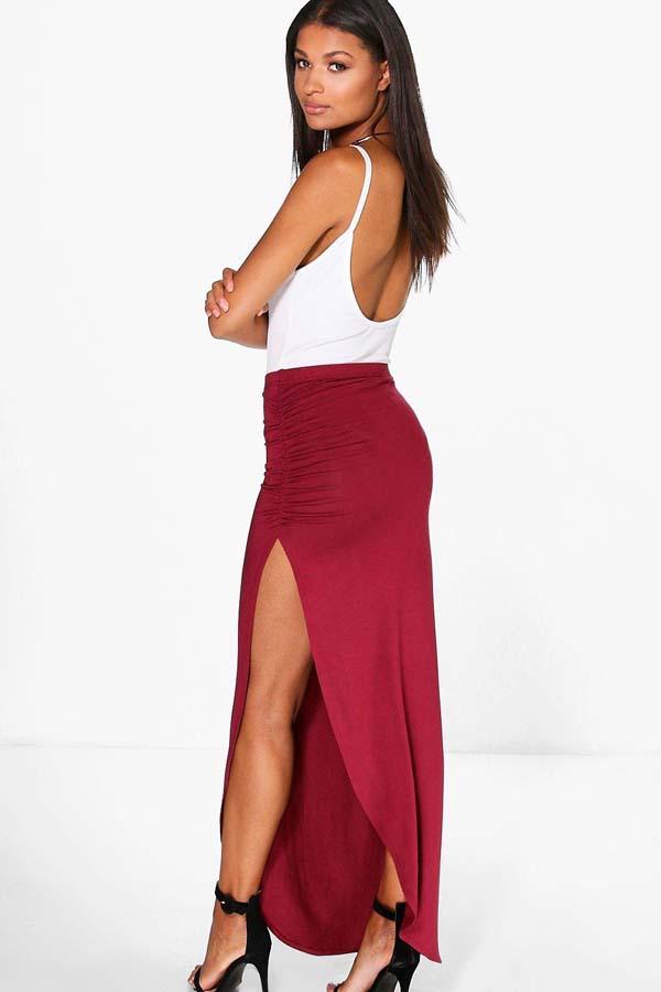 Σύνολα με μακριά φούστα και σκίσιμο (4)