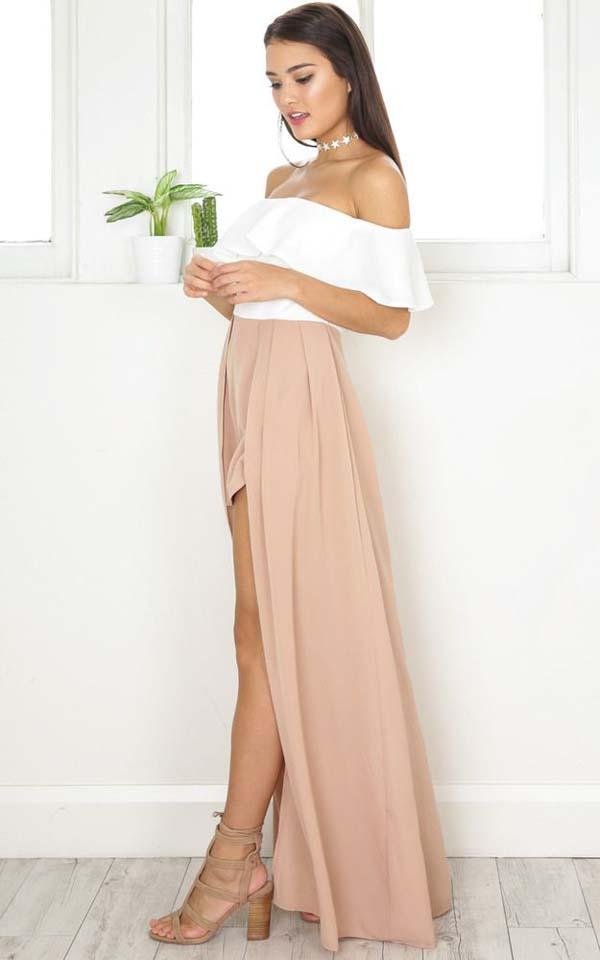 Σύνολα με μακριά φούστα και σκίσιμο (3)