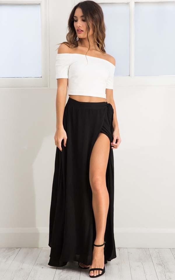 Σύνολα με μακριά φούστα και σκίσιμο (10)