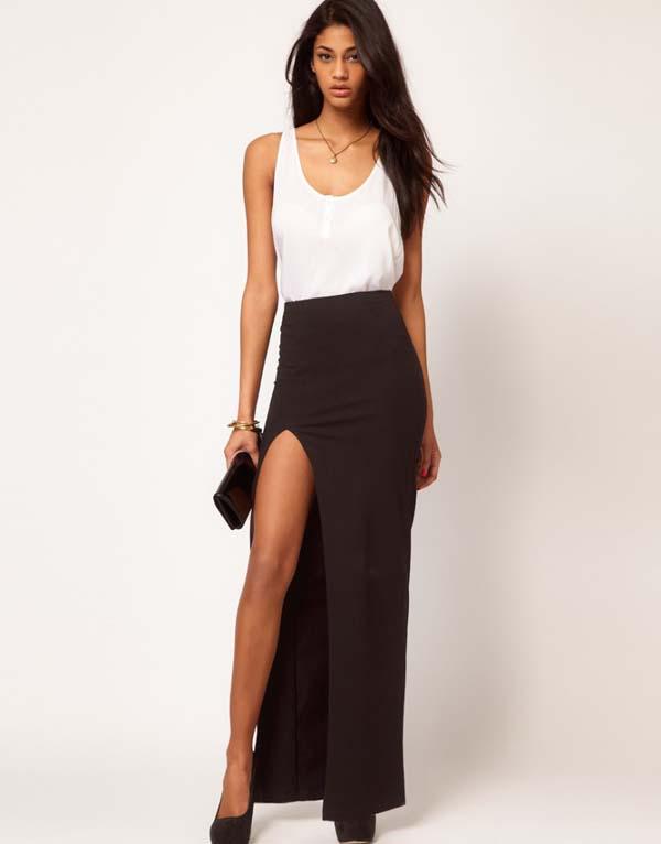 Σύνολα με μακριά φούστα και σκίσιμο (14)