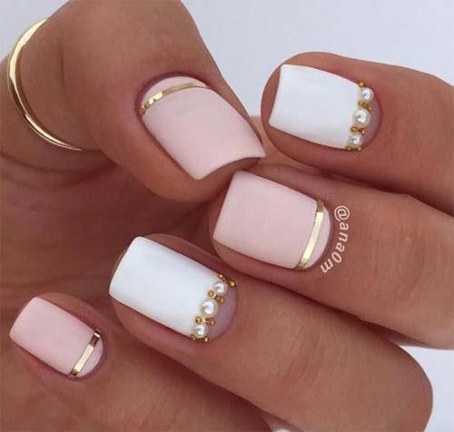 Half moon nails: Το ανάποδο γαλλικό μανικιούρ (7)