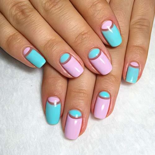 Half moon nails: Το ανάποδο γαλλικό μανικιούρ (8)