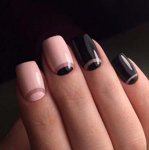 Half moon nails: Το ανάποδο γαλλικό μανικιούρ (11)