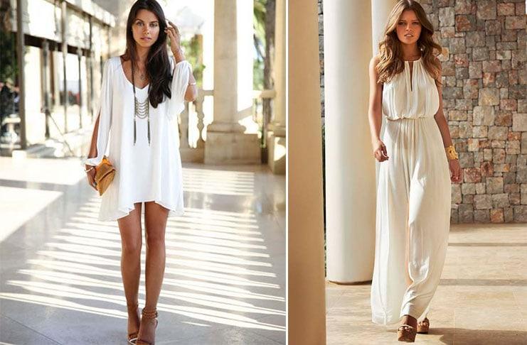 Λευκό φόρεμα: Το απόλυτο καλοκαιρινό σύνολο και πως να το φορέσετε