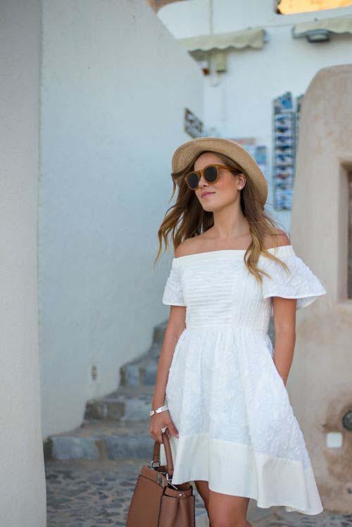 Φορέστε λοιπόν το αγαπημένο σας κοντό ή μακρύ λευκό φόρεμα στην δουλειά 75204d9ac0d