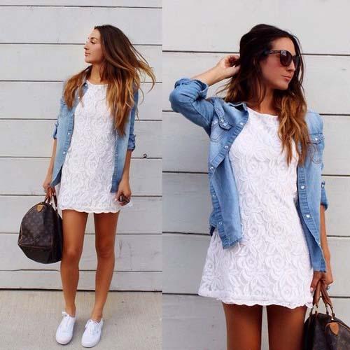 Λευκό φόρεμα  Δείτε πως να φορέσετε το απόλυτο καλοκαιρινό trend ... 58b362ecd4a