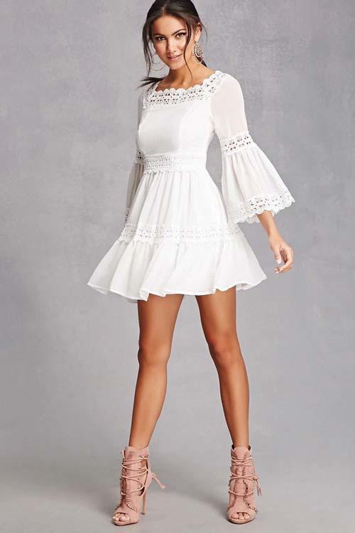 Λευκό φόρεμα (9)
