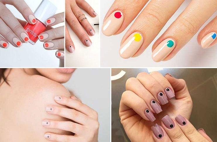 Minimal dot nails: Το πανεύκολο κορυφαίο trend στα νύχια (1)