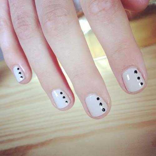 Minimal dot nails: Το πανεύκολο κορυφαίο trend στα νύχια (7)