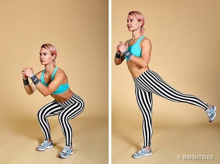 12 ασκήσεις για να συσφίξετε τα οπίσθια και τα πόδια σας σε 1 εβδομάδα (2)