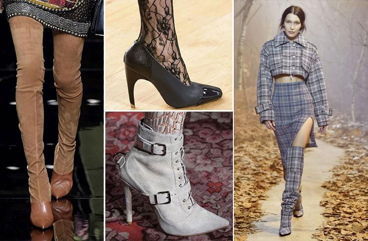 Κορυφαίες τάσεις στα παπούτσια για το Φθινόπωρο / Χειμώνα 2017 (1)