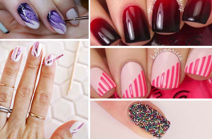 30b82ca1bffa Nail art  15 πανεύκολα σχέδια στα νύχια ακόμη και για αρχάριες (1)