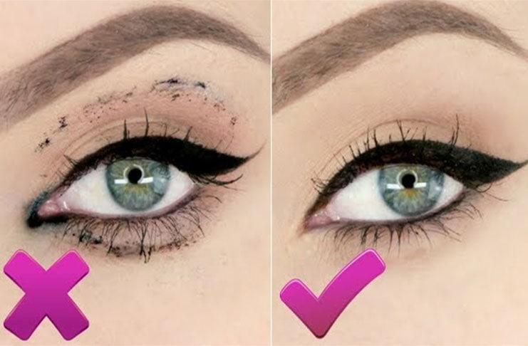 Πως να αποφύγετε το μουτζούρωμα από την μάσκαρα και το eyeliner