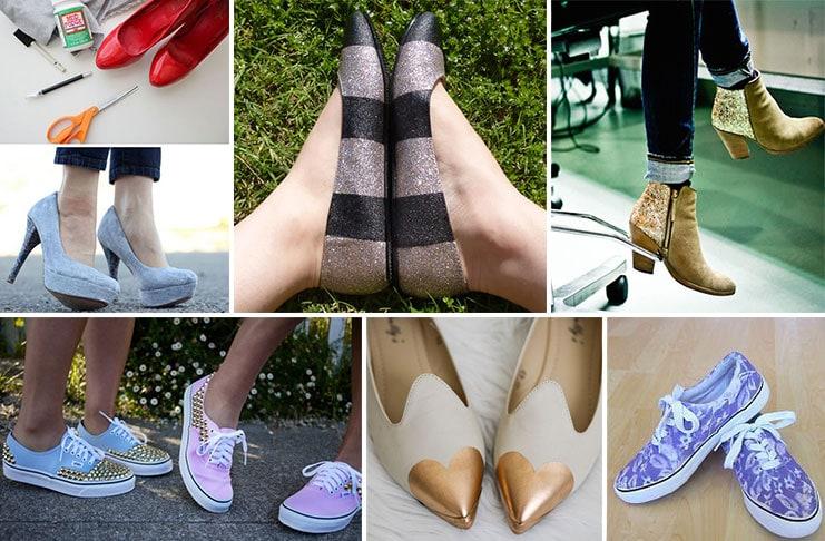 Πως να ανανεώσετε τα παλιά σας παπούτσια με απλούς τρόπους (1)