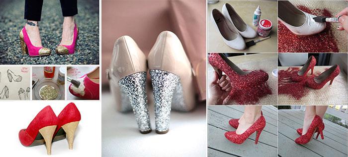 Πως να ανανεώσετε τα παλιά σας παπούτσια με απλούς τρόπους (2)