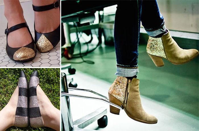 Πως να ανανεώσετε τα παλιά σας παπούτσια με απλούς τρόπους (4)