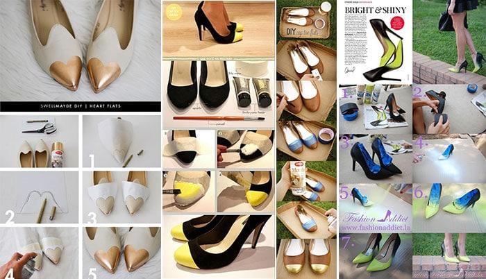 Πως να ανανεώσετε τα παλιά σας παπούτσια με απλούς τρόπους (5)