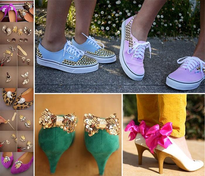 Πως να ανανεώσετε τα παλιά σας παπούτσια με απλούς τρόπους (9)