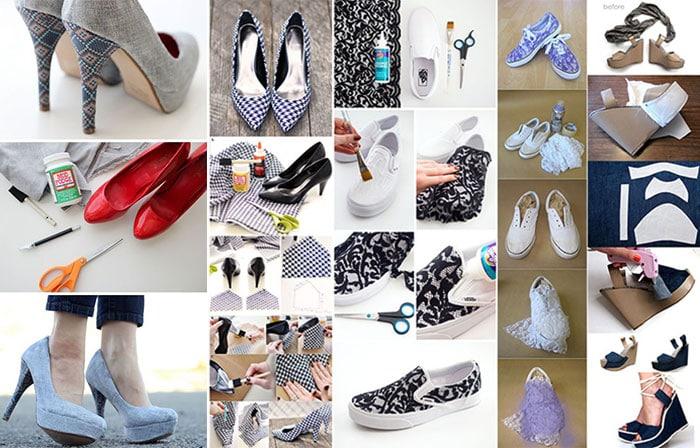 Πως να ανανεώσετε τα παλιά σας παπούτσια με απλούς τρόπους (10)