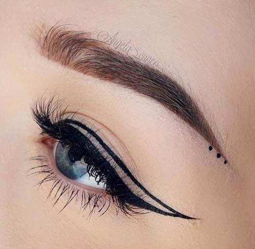 Negative Space Eye Makeup (12)