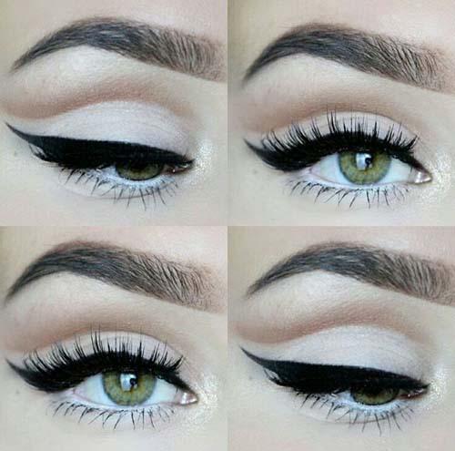 Negative Space Eye Makeup (15)