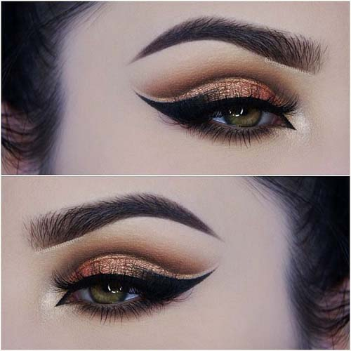 Negative Space Eye Makeup (16)