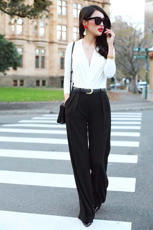 Υπέροχοι συνδυασμοί με ένα λευκό πουκάμισο (21)