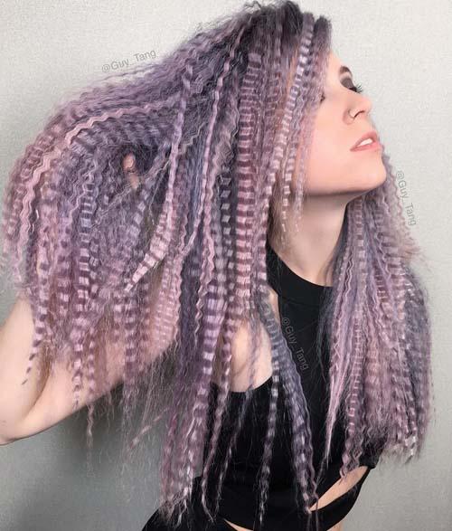 Μαλλιά τοστιέρα - Crimped hair (32)