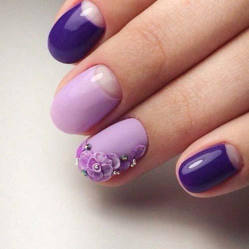 Μωβ νύχια (2)