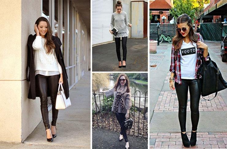Πως να φορέσετε το δερμάτινο παντελόνι (1)