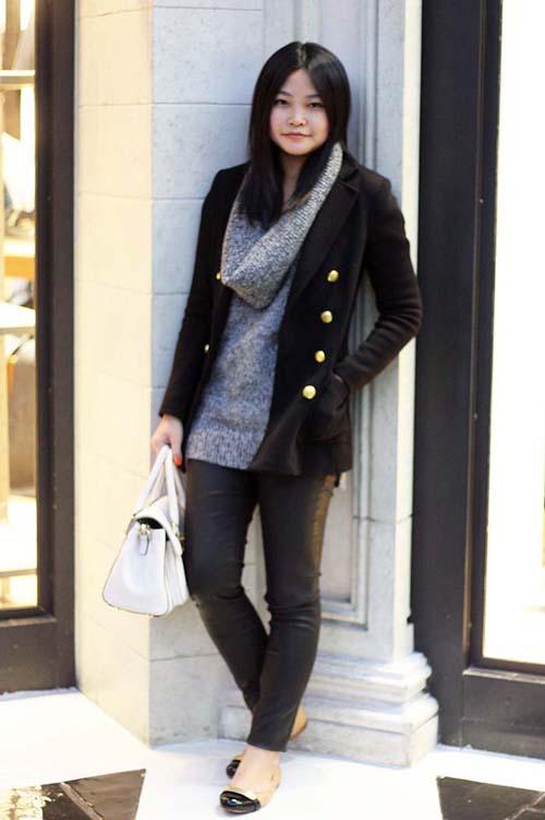 Πως να φορέσετε το δερμάτινο παντελόνι (5)
