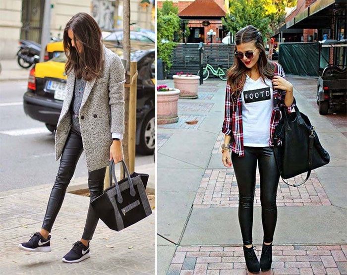 Πως να φορέσετε το δερμάτινο παντελόνι (23)