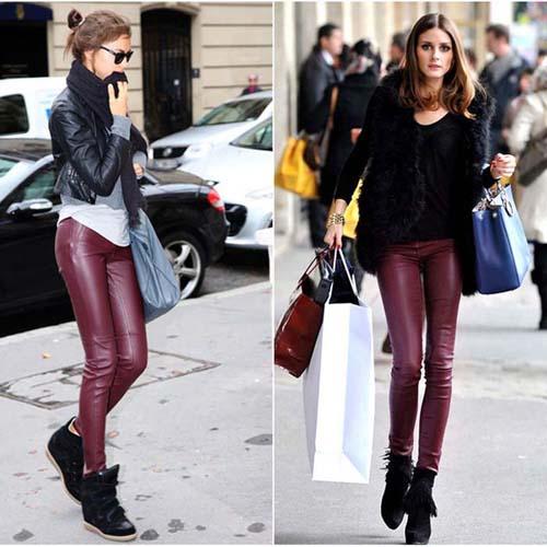 d24493a93db7 Fashion Is Art ©  Πως να φορέσετε το δερμάτινο παντελόνι