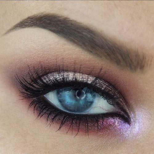 Ροζ μακιγιάζ ματιών (5)