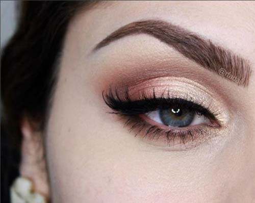 Ροζ μακιγιάζ ματιών (7)