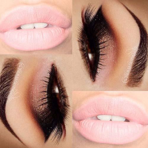 Ροζ μακιγιάζ ματιών (11)