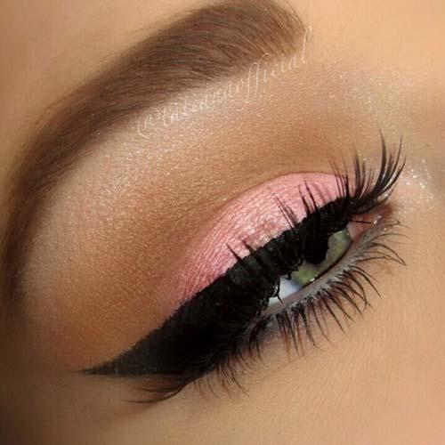 Ροζ μακιγιάζ ματιών (15)