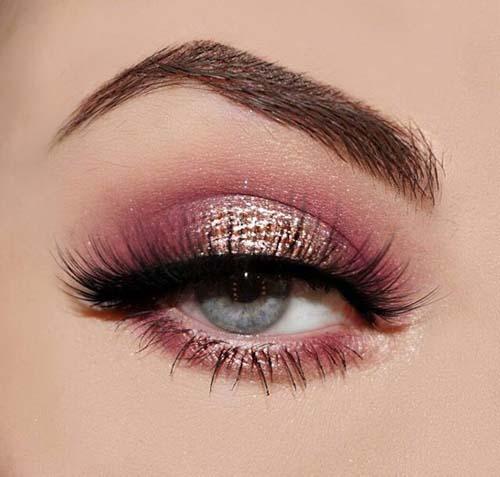 Ροζ μακιγιάζ ματιών (16)