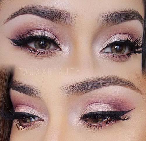 Ροζ μακιγιάζ ματιών (22)
