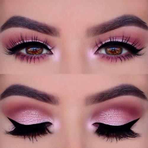 Ροζ μακιγιάζ ματιών (25)