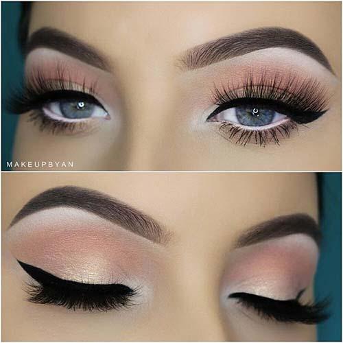 Ροζ μακιγιάζ ματιών (26)